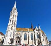 Roman Catholic church, Matthias Church, Budapest, Hungary Stock Photography
