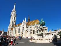 Roman Catholic church, Matthias Church, Budapest, Hungary Royalty Free Stock Photos