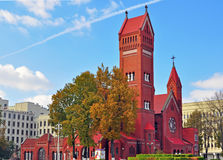 Roman catholic church in Minsk Royalty Free Stock Photos