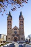 Roman Catholic Church Nyiregyhaza, Ungern royaltyfri fotografi