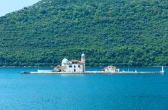 Roman Catholic Church of Our Lady of the Rocks. (Perast, Montenegro, Kotor) Royalty Free Stock Photography