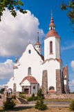 Roman Catholic Church of Our Lady Ruzhentsova in Soly Stock Images
