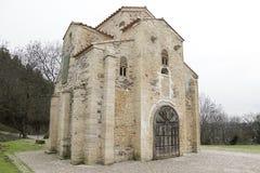Roman Catholic church, Oviedo, Spain Royalty Free Stock Photo