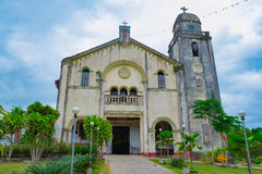 Roman Catholic Church in Philippines. Roman Catholic Parish Church of Saint Isidore the Laborer, Bohol, Philippines Royalty Free Stock Image