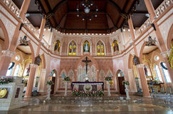 Roman Catholic Church, provincia di Chanthaburi Fotografia Stock