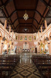 Roman Catholic Church, provincia di Chanthaburi Fotografie Stock