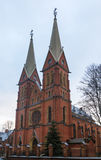 Roman Catholic Church in Riga Royalty Free Stock Images