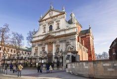 Roman Catholic Church of Saints Peter and Paul in Krakow, Stock Photography