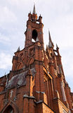 Roman-Catholic church in Samara Stock Image