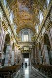 Roman Catholic church San Carlo al Corso Royalty Free Stock Photo