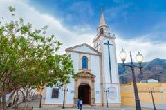 Roman Catholic church Shrine of Our Lady of Mount Carmel Stock Images