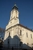 Roman catholic church, Sombor, Serbia. Roman catholic church in Sombor, Serbia Royalty Free Stock Images