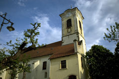 Roman catholic church, Szentendre, Hungary Stock Images