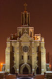 Roman-Catholic church. In Tashkent Uzbekistan Royalty Free Stock Photo