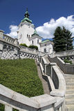 Roman catholic church at town Ruzomberok, Slovakia Stock Image