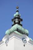 Roman catholic church at town Ruzomberok, Slovakia Royalty Free Stock Photos