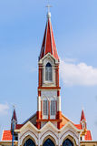 Roman Catholic church in the Vietnam Royalty Free Stock Photo