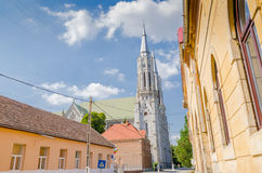Roman Catholic Church in Vinga stockfoto