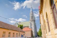 The Roman Catholic Church in Vinga Stock Photo
