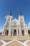 Roman Catholic Diocese or Cathedral of the Immaculate Conception Royalty Free Stock Photo