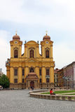Roman Catholic Episcopal church Timisoara. Romania Stock Photos