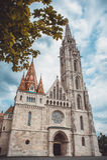 Roman Catholic Matthias Church in the heart of Budapest, Hungary Royalty Free Stock Photos