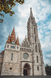 Roman Catholic Matthias Church in the heart of Budapest, Hungary Royalty Free Stock Images