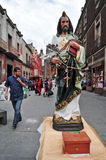 Roman Catholicism in Mexiko Stockbild