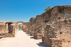 Roman Catullus villa in Sirmione, Italy Royalty Free Stock Photo