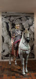 Roman cavalryman 1 Royalty Free Stock Image