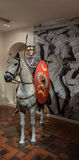 Roman cavalryman Royalty Free Stock Photos