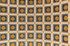 Roman ceiling. In abac university thailand Stock Images
