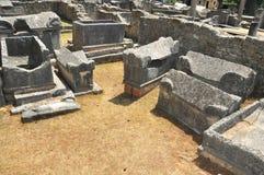 Roman cemetery Royalty Free Stock Image