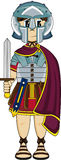 Roman Centurion Soldier Royalty Free Stock Photo
