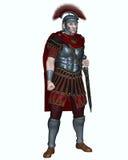 Roman Centurion with Transverse Crest Stock Image