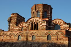Roman chirch. In Nessebar Bulgaria Royalty Free Stock Photos