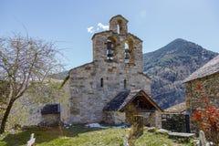 Roman Church de Santa Maria de Cardet, Catalogne - Espagne images libres de droits
