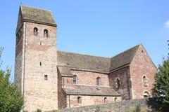 Roman Church Saint Kilian en Luegde, Alemania Fotos de archivo libres de regalías
