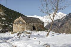 Roman Church of  Sant Quirc de Taull In el Pla de la Ermita, Catalonia - Spain. Roman Church of Sant Quirc de Taull In el Pla de la Ermita Catalonia - Spain Stock Images