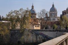 Roman Churches, Italia Fotografia Stock Libera da Diritti