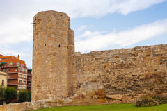 The Roman circus. Ancient stone fort in Tarragona, Catalonia Stock Images
