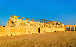 The Roman Circus or Hippodrome in Jerash Royalty Free Stock Images