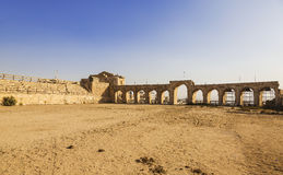 The Roman Circus or Hippodrome in Jerash. Jordan Royalty Free Stock Photography