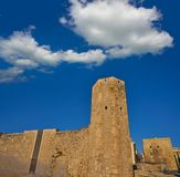 Roman Circus a Tarragona della Catalogna fotografia stock