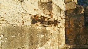 Roman City - Beit Shean antiguos Imágenes de archivo libres de regalías