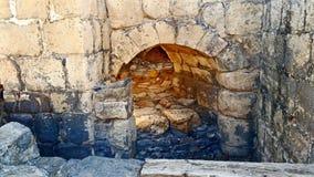 Roman City - Beit Shean antiguos Imagenes de archivo