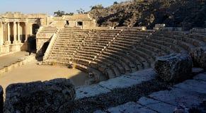 Roman City - Beit Shean antiguos Foto de archivo libre de regalías