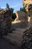 Roman City of Complutum  - Spain Royalty Free Stock Photography