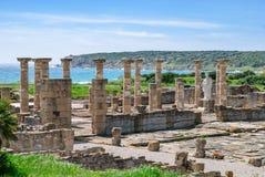 Roman city forum Stock Photography