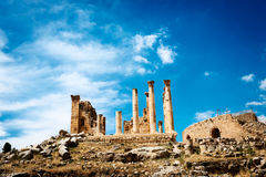Roman city of Gerasa, Jerash Royalty Free Stock Image